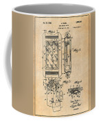 1931 Self Winding Watch Patent Print Antique Paper Coffee Mug