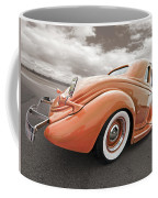 1935 Ford Coupe In Bronze Coffee Mug
