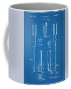 1935 Phillips Screw Driver Blueprint Patent Print Coffee Mug