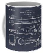 1935 Union Pacific M-10000 Railroad Blackboard Patent Print Coffee Mug