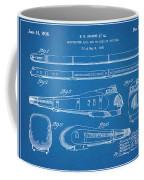 1935 Union Pacific M-10000 Railroad Blueprint Patent Print Coffee Mug