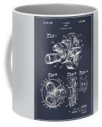 1938 Bell And Howell Movie Camera Patent Print Blackboard Coffee Mug