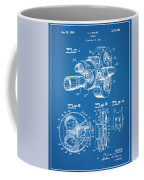 1938 Bell And Howell Movie Camera Patent Print Blueprint Coffee Mug