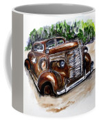 1938 Crime Fighter Coffee Mug by Clyde J Kell