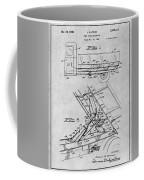 1939 Dump Truck Gray Patent Print Coffee Mug