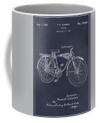 1939 Schwinn Bicycle Blackboard Patent Print Coffee Mug