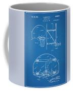 1944 Basketball Goal Blueprint Patent Print Coffee Mug