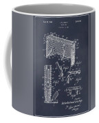 1947 Hockey Goal Patent Print Blackboard Coffee Mug