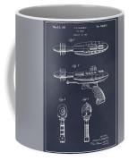 1953 Ray Gun Toy Pistol Blackboard Patent Print Coffee Mug