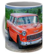 1955 Chevrolet Bel Air Nomad Coffee Mug