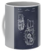 1960 Rolleiflex Photographic Camera Blackboard Patent Print Coffee Mug