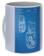 1960 Rolleiflex Photographic Camera Blueprint Patent Print Coffee Mug