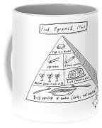 1960s Food Pyramid Coffee Mug