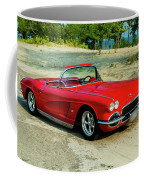 1962 Corvette Roadster Custom Coffee Mug