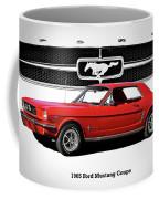 1965 Mustang 289 Coupe Coffee Mug