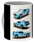 1969 Ford Mustang Boss 302 Coffee Mug