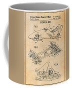 1982 Bobsled Antique Paper Patent Print  Coffee Mug