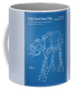 1982 Star Wars At-at Imperial Walker Blueprint Patent Print Coffee Mug