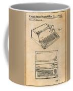 1983 Steve Jobs Apple Personal Computer Antique Paper Patent Print Coffee Mug