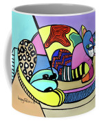 A Cat Named Picasso Coffee Mug by Anthony Falbo