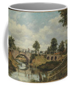 An Old Bridge At Hendon  Middlesex  Coffee Mug
