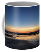 Beach Sunset, Blackpool, Uk 09/2017 Coffee Mug