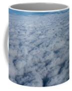 Beautiful Cloudscape High Up In The Sky. Coffee Mug