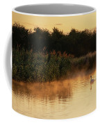 Beautiful Dawn Landscape Image Of River Thames At Lechlade-on-th Coffee Mug