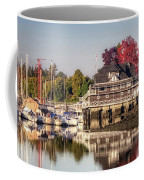 Colorful Autumn Foliage At Stanley Park Coffee Mug by Andy Konieczny