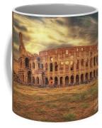 Colosseo, Rome Coffee Mug by Leigh Kemp