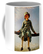 Dragonfly, Painter's Daughter Portrait Coffee Mug