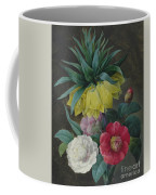 Four Peonies And A Crown Imperial  Coffee Mug