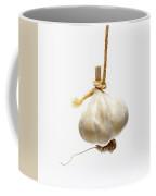 Garlic On A White Background Coffee Mug