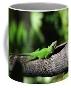 Green Lizard Coffee Mug