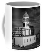 Halifax Town Clock 2017 Black  And White Coffee Mug