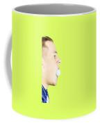 Man With Golf Ball In Mouth Coffee Mug