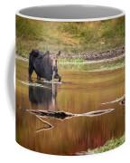 Moose At Green Pond Coffee Mug