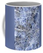 Munich Germany City Map Coffee Mug