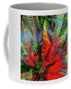 Plants And Leaves Hawaii Coffee Mug