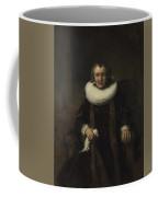 Portrait Of Margaretha De Geer  Wife Of Jacob Trip  Coffee Mug
