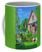 Scenic Garden And Antiques Store Coffee Mug