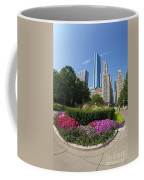 Summer Flowers In Bloom, Millennium Park, Chicago City Center, I Coffee Mug