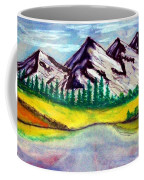 2019#01_mountain Lake Coffee Mug
