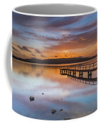 Early Morning Clouds And Reflections On The Bay Coffee Mug