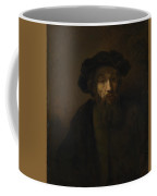 A Bearded Man In A Cap  Coffee Mug