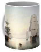 Boston Harbor  Sunset  Coffee Mug