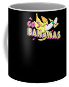 Go Bananas Good Old Times Born In The 90s Retro Rustic Coffee Mug