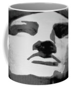 Lady Liberty In Black And White Coffee Mug