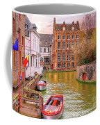 3 Nights In Brugge No 17 Coffee Mug by Leigh Kemp