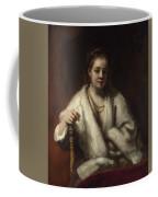 Portrait Of Hendrickje Stoffels  Coffee Mug